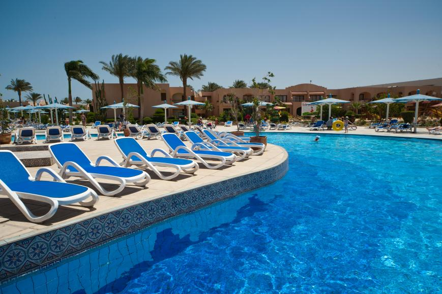 3,5 Sterne Hotel: Ali Baba Palace - Hurghada, Rotes Meer