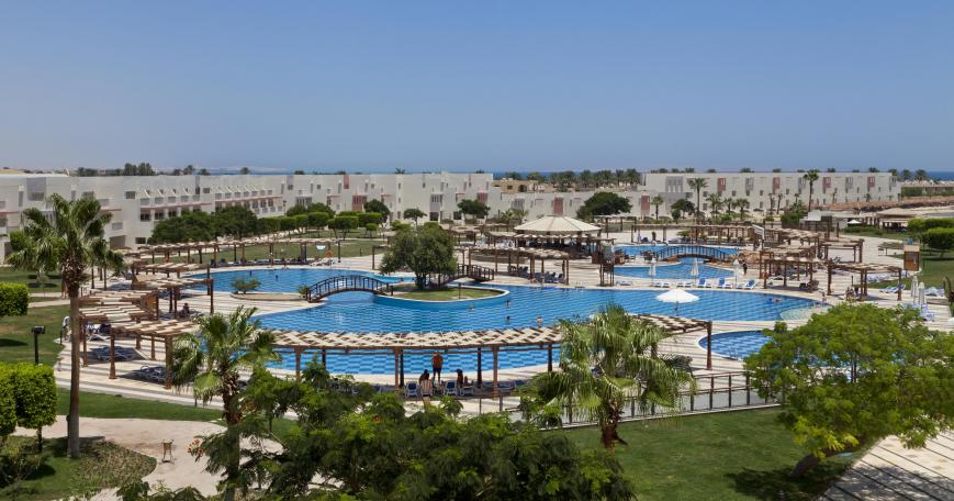 5 Sterne Hotel: Sunrise Crystal Bay Resort - Hurghada, Rotes Meer