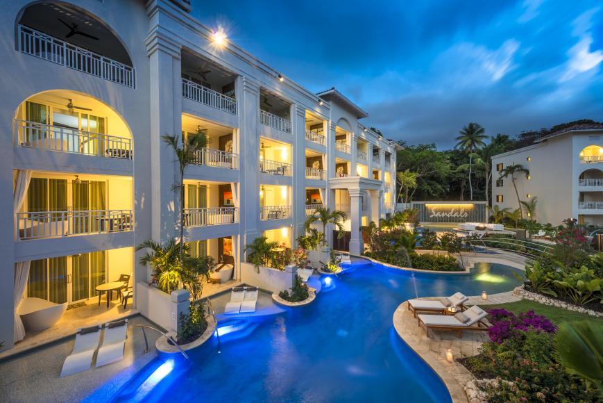 Hotel Sandals Barbados 5 Sterne Dover Beach Vtours