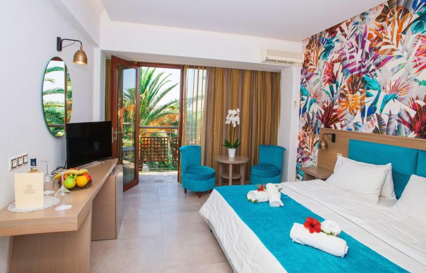3 Sterne Hotel: May Beach - Rethymno, Kreta