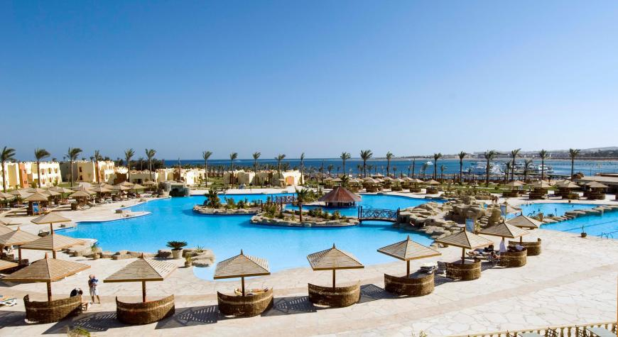 5 Sterne Hotel: Sunrise Select Royal Makadi Resort - Makadi Bay, Rotes Meer