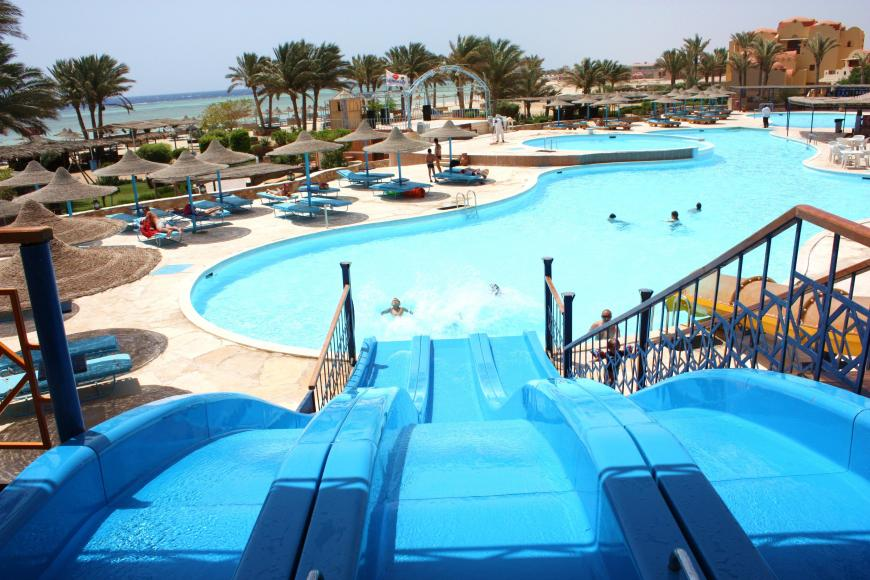 4 Sterne Hotel: Bliss Abo Nawas Resort - Marsa Alam, Rotes Meer