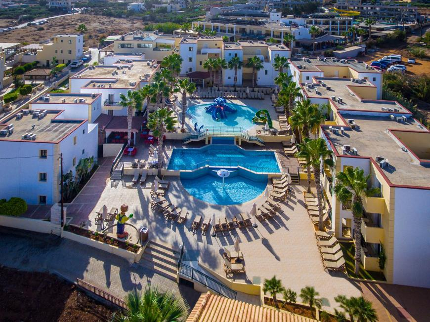 5 Sterne Hotel: Gouves Water Park Holiday Resort - Gouves, Kreta