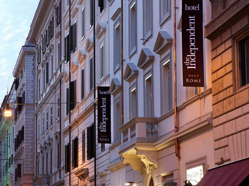 4 Sterne Hotel: The Independent - Rom, Latium
