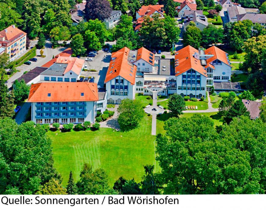 Hotel Sonnengarten 4 Sterne Bad Worishofen Vtours