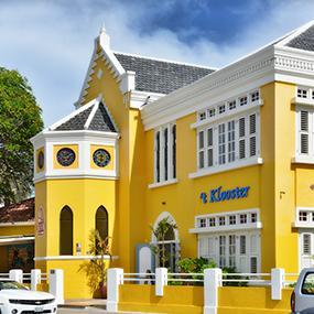 3 Sterne Hotel: Hotel 't Klooster - Willemstad, Curacao