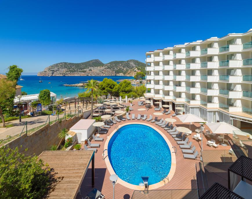 4 Sterne Hotel: H10 Blue Mar - Adults Only - Camp de Mar, Mallorca (Balearen)