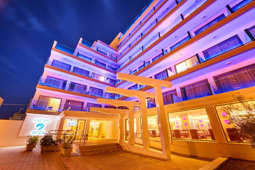 4 Sterne Hotel: Indico Rock Hotel Mallorca - Adults Only - Arenal, Mallorca (Balearen)