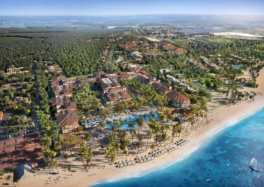 Lopesan Costa Bavaro Resort, Spa & Casino, Außenansicht