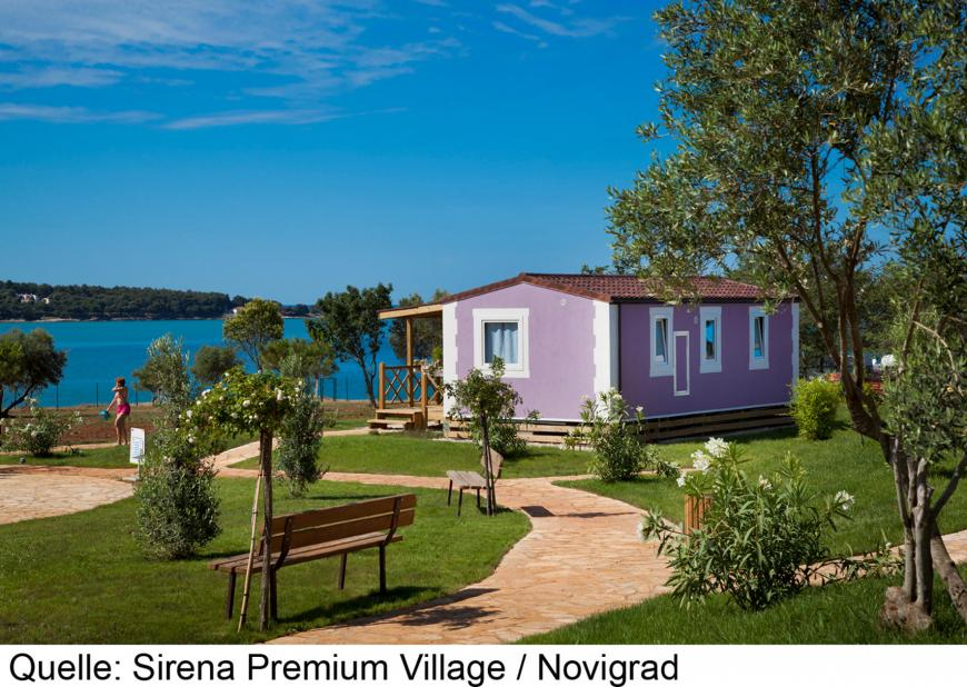4 Sterne Hotel: Aminess Sirena Holiday Homes - Novigrad, Istrien