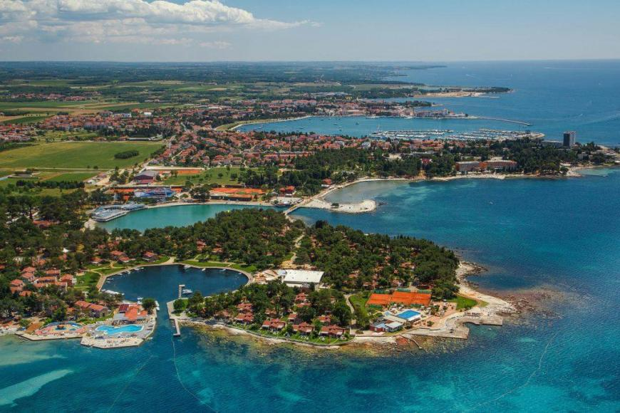 4 Sterne Hotel: Appartements Sol Amfora for Plava Laguna - Umag, Istrien