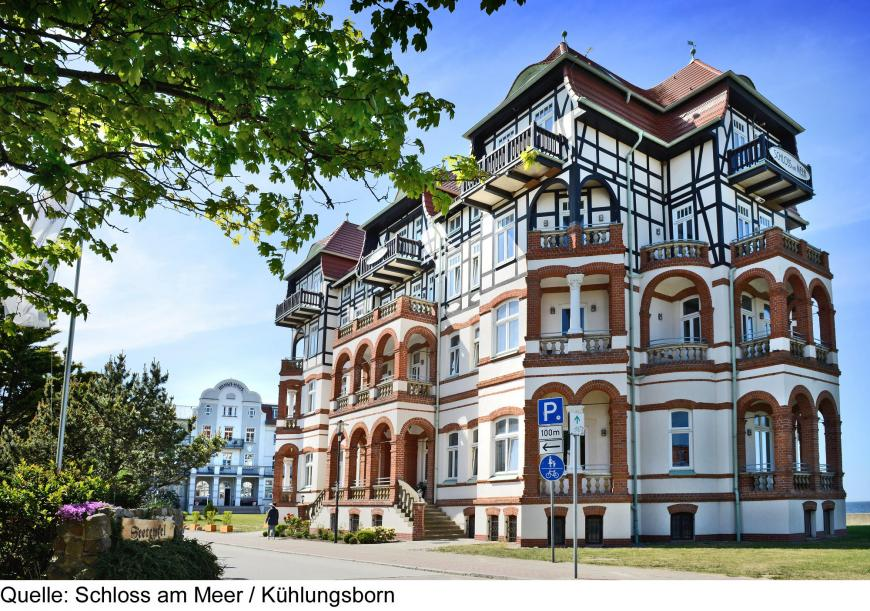 Hotel Schloss Am Meer Hansa Haus Kuhlungsborn Vtours