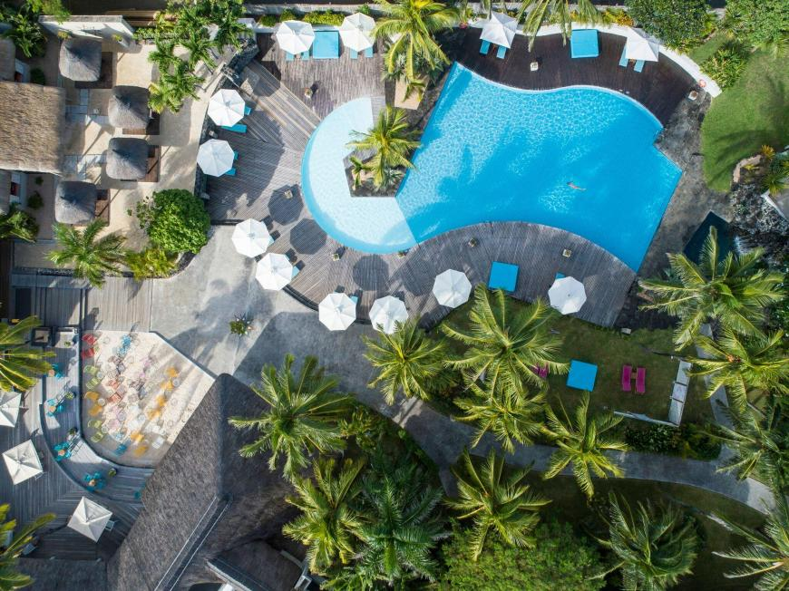 4 Sterne Hotel: Solana Beach Resort - Adults Only - Belle Mare, Ostküste Mauritius