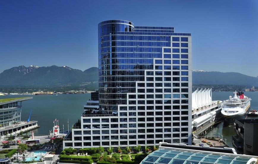 5 Sterne Hotel: Fairmont Waterfront - Vancouver, British Columbia