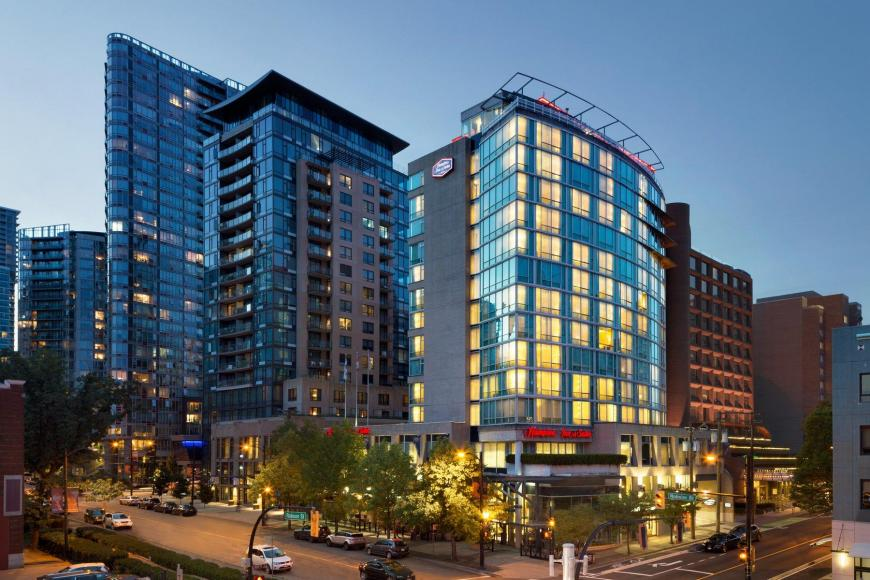 3 Sterne Hotel: Hampton Inn & Suites Downtown - Vancouver, British Columbia